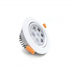 Faretto LED 7W da incasso diametro 109 mm orientabile 220v Fi35-7W
